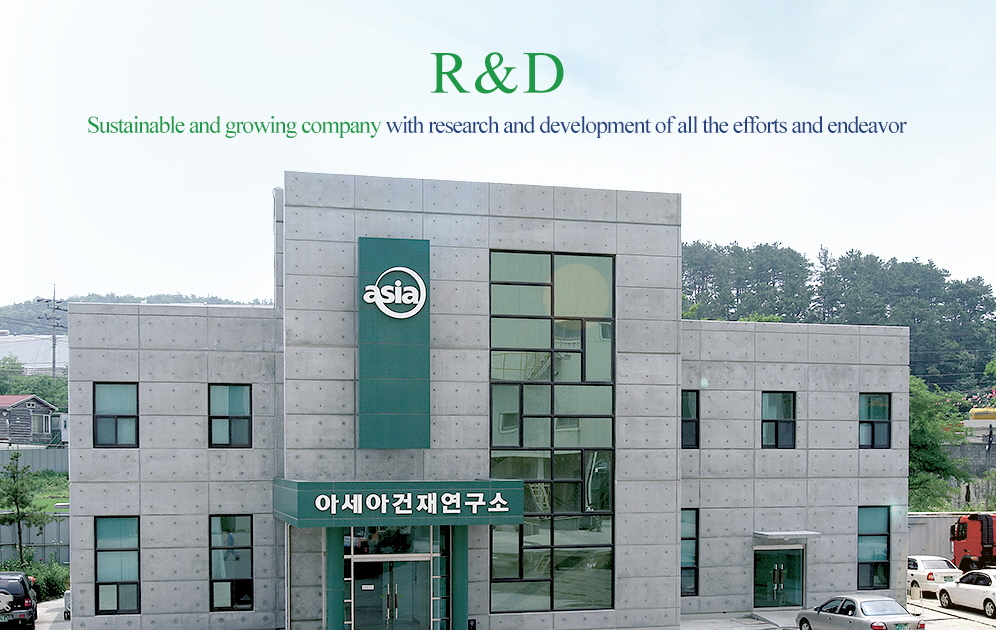 R&D - Sustainable and growing company with research and development of all the efforts and endeavor